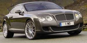 Bentley Continental GT Speed (a / c from 2008-)