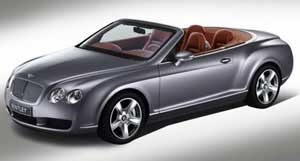Bentley Continental GTC (a / c from late 2006 -)