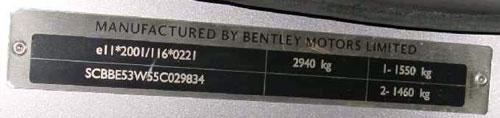 Bentley Flying Spur Continental , GT-Series , GTC
