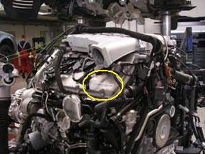 Bentley engine number sticker