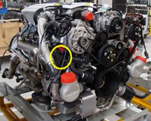 Bentley 6 digit Engine number (overview)