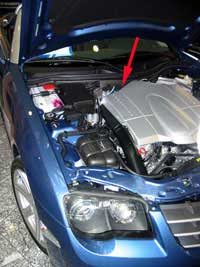 VIN Chrysler Crossfire and Chrysler Auto Crossfire Roadster (ZH)