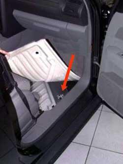 Location Audi plate A2