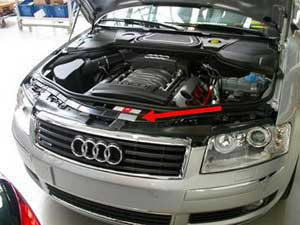 type plate on the Audi A8