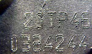 Citroen engine numbers