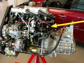 Engine number 1,6/1,8/1,8 TCI Diesel/ 1,8 Endura-DE/DE (TC,TCI)