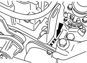 Engine number 2,5 TCI Diesel