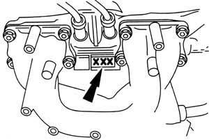 ENGINE NUMBER 2,4 OHC 12 V