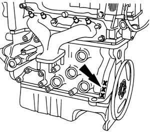 ENGINE NUMBER 2,0/2,3 DOHC (Galaxy)