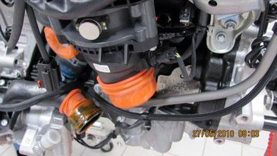 2.2 litre CRD Mercedes engine (OM 651)