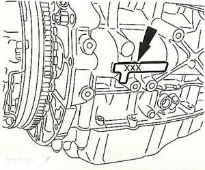 ENGINE NUMBER 2,2 / 2,4 DuraTorq-DICI