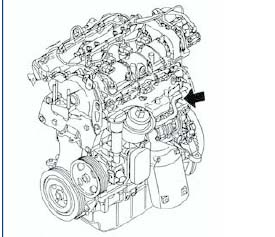 ENGINE NUMBER .3 litre Duratorq-TDCi (FD4 Diesel)