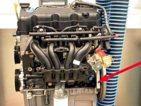 ENGINE NUMBER 1,3/1,6 Duratec-8V