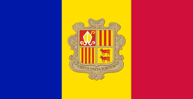 Vehicle registration certificate of Andorra
