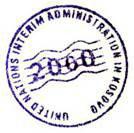 kosovo seal
