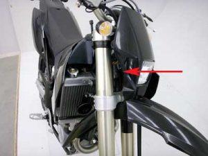 Husaberg motorcycle
