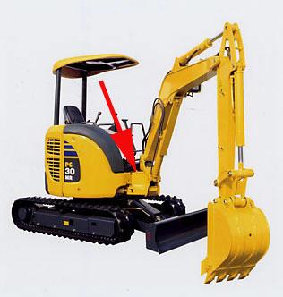 Komatsu Excavators VIN