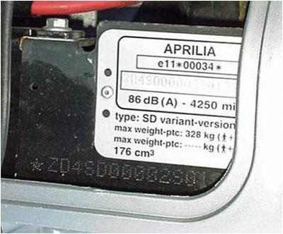 Aprilia vin