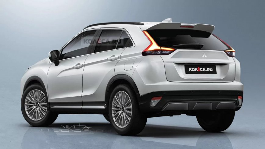 Renderers of the facelifted Mitsubishi Eclipse Cross