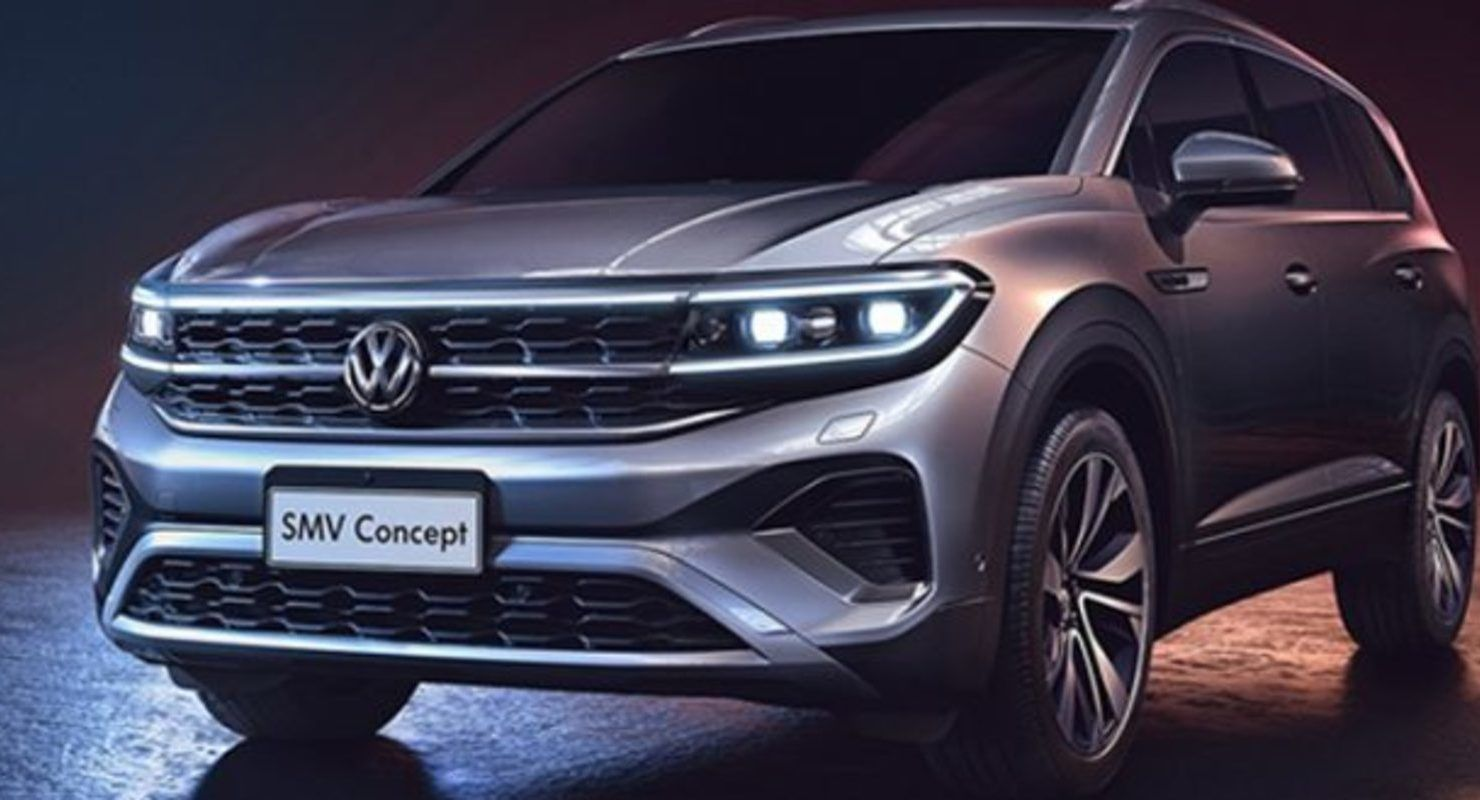 Volkswagen will present a large talagon crossover