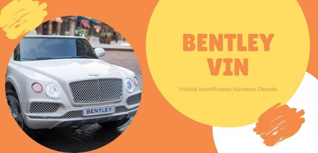 Bentley VIN