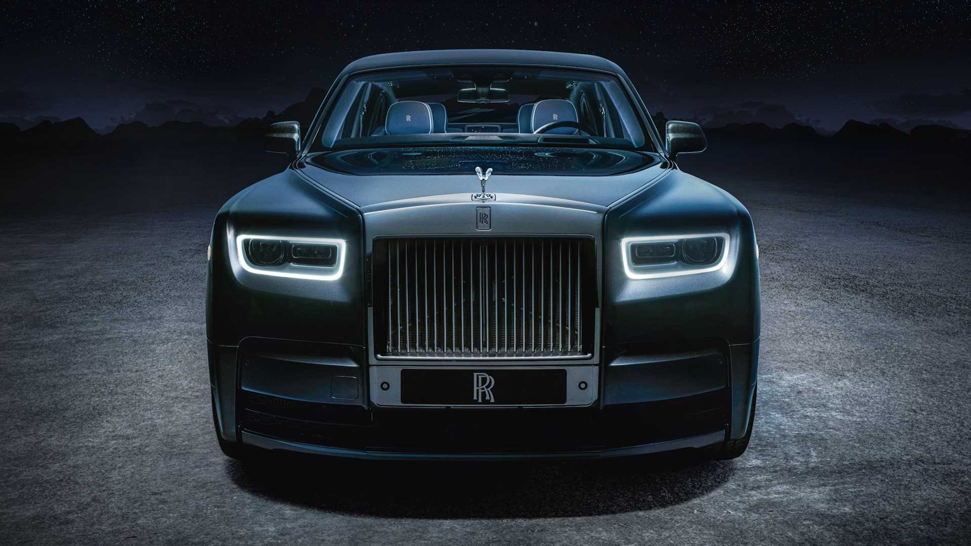 Rolls-Royce unveils limited edition Phantom Tempus sedan