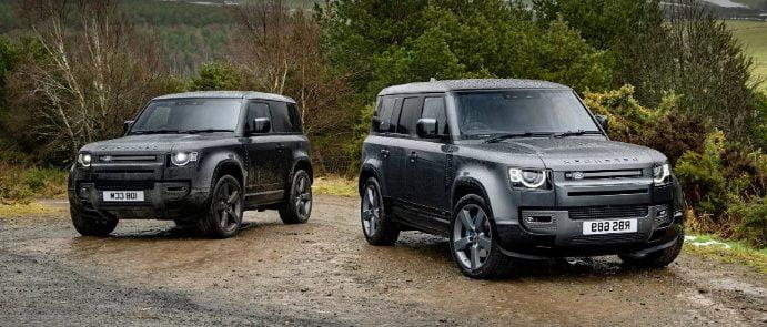 New Land Rover Defender V8 engine