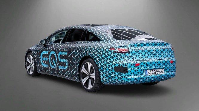 Mercedes-Benz EQS. Photo Mercedes-Benz