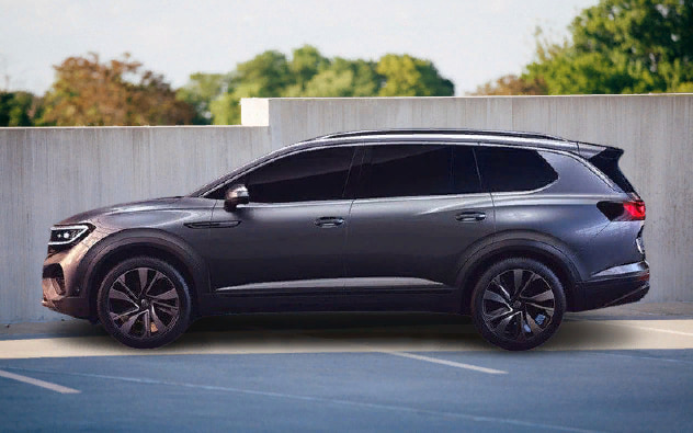 Volkswagen Talagon 2021 Exterior Design