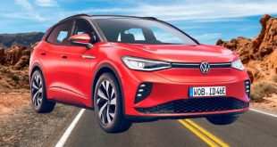 New car electric Volkswagen ID 4 GTX launched