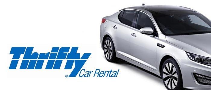 Thrifty car rental