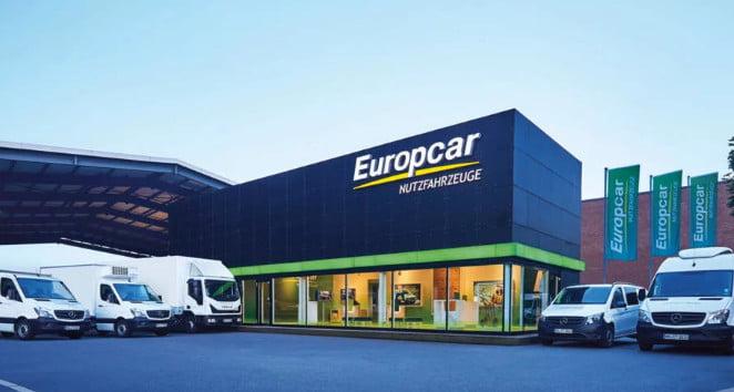 europcar rental car