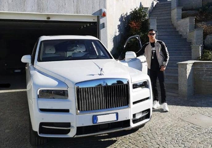 Rolls Royce Cullinan Ronaldo