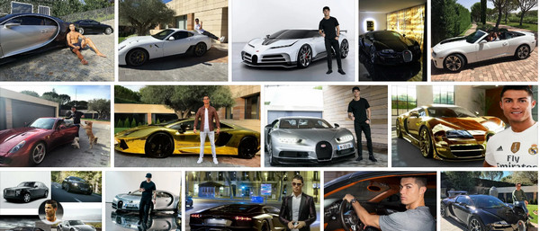 The Best Ronaldo New Car Collection