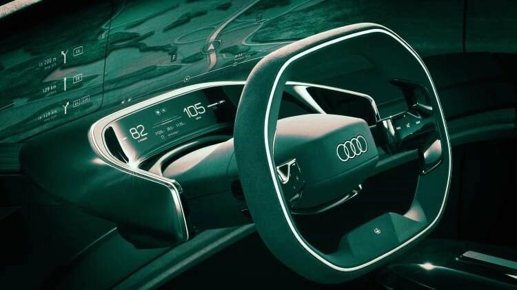 Interior Audi Grand Sphere