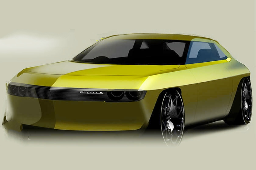 Nissan is thinking about what a future Silvia would look lik